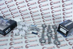 Cp Carillo Any Bore Any Cr Piston Pro H 3 8 Carr Rods For Toyota 1fz Fe