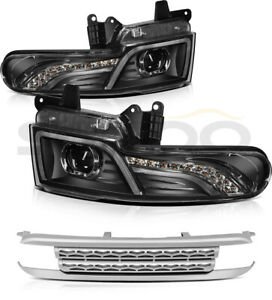 For 2007 2015 Toyota Fj Cruiser Led Projector Headlights With Grille Assembly