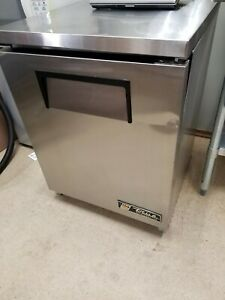 True Tuc 24 Single Section Solid Door Undercounter Refrigerator