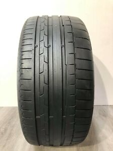 High Tread Used Tire 1 245 35r19 Continental Sportcontact 6