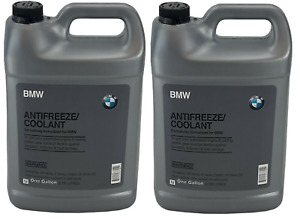 New For Bmw Genuine Engine Coolant Antifreeze 2 Gallons Blue Color 82141467704