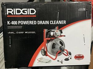 Ridgid 52363 K 400 115v Sewer Drain Unclogging Machine new Free Shipping In Us