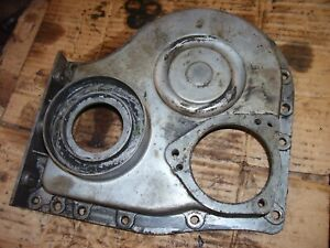 Vintage Oliver 55 Gas Tractor Engine Front Cover Nice