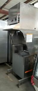 Bki Ventless Hood System With 40 Lb Dean Electric Fryer Fh 28d Sr1esd