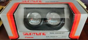 Suntune Cp7991 Duel Gauge Kit Mechanical Black