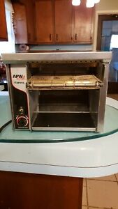 Apw Wyott At express Commercial Conveyor Toaster