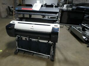 Canon Ipf785 36 Wide Format Color Printer W Scanner Ct