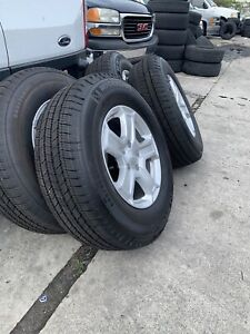 17 Jeep Wrangler Unlimited Sport Jl Oem Wheels Rims Tires 2018 2019 2020 4