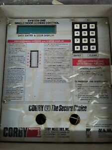 Corby System 1 Single Door Access Control