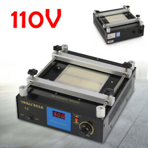 Bga Infrared Rework Handheld Hot Plate Preheat Preheating Station Lab 110v 600w