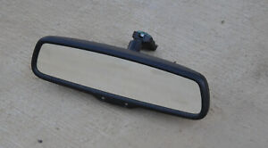 2007 Ford Fusion Rear View Mirror Windshield Mount Rearview Black Mirror