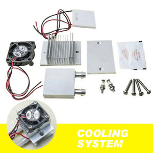 Thermoelectric Peltier Module Water Cooler Cooling System Kit 60w Tec1 12706 Diy
