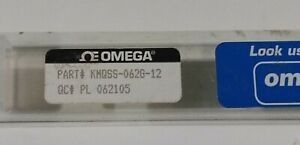 Omega K Thermocouple Kmqss 062g 12 Temperature Sensor With Miniature Connector