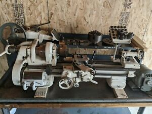 South Bend Lathe 9a Plus Bench And Chip Pan And Tooling