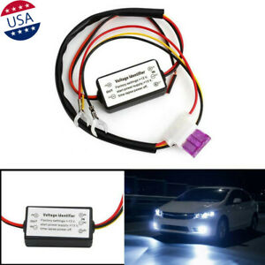 Car Led Daytime Running Light Automatic On Off Control Module Dimmer Relay Drl