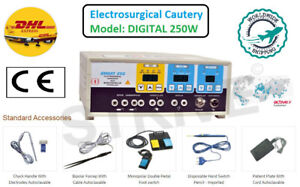 New Electrosurgical Generator Cautery Machine 250w Digital Electro Surgical Unit
