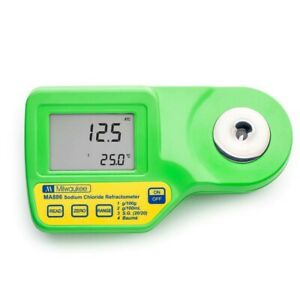 Milwaukee Ma886 Digital Refractometer To Determine Sodium Chloride In Food