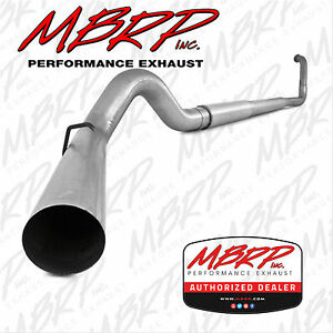 Mbrp 5 Complete Tb Exhaust W Muffler 2003 2007 Ford F250 F350 6 0l Powerstroke