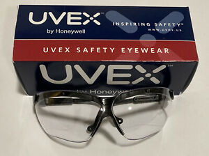 Uvex By Honeywell Genesis Safety Glasses With Uvextreme Anti fog Coating Black