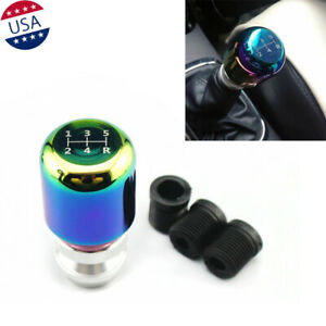 Universal Colorful Neon Jdm 5 Speed Manual Stick Shifter Lever Gear Shift Knob