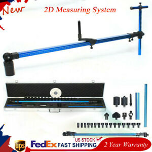 Auto Body Frame Machine 2d Measuring System Tram Gauge Perfect Solution Us Stock
