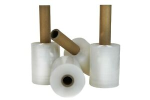 Mini Industrial Stretch Wrap With Handle 5 Inch X 1000 Ft Roll 80 Gauge