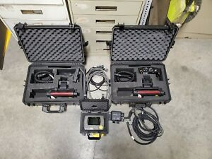 Leica Dual Grade Laser System With Powerblade Mcp700 Control Box