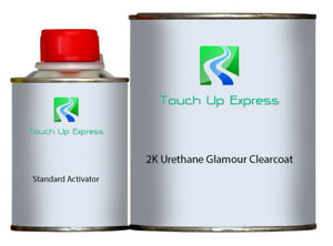 One Quart Of 2k Urethane Glamour Clearcoat With Standard Activator