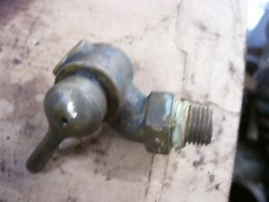 Vintage Fordson Major Diesel Tractor Engine Water Drain 1 4 Brass