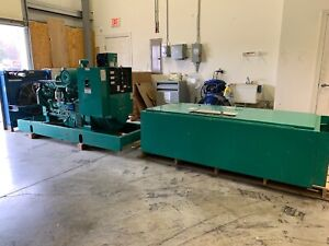 100 Kw Onan Diesel Generator And Transfer Switch 648 Hours We Ship