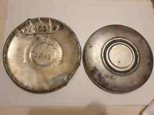 4 Vintage Rims Max Wedge Plymouth Dodge Chrysler Hubcaps Wheel 8 5