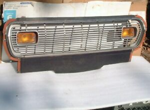 1974 Gremlin Grill Complete With Moldings Signals 74 75 Amc X