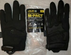 Reduced Mechanic Wear Taa Covert M pact Anti static Impact Gloves Size Small