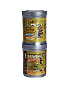 Pc Products 16333 Pc Woodytwo part Wood Repair Epoxy Paste 12 Oz In Two Cans