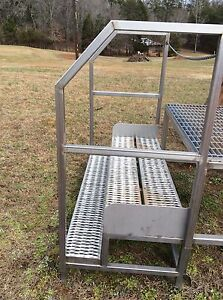 Stainless Steel Steps