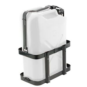 Smittybilt 2798 Jerry Gas Can Holder For 5 Gallon Can Metal W Lockable Top Strap