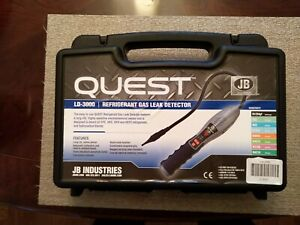 Jb Industries Quest Ld 3000 Refrigerant Gas Leak Detector