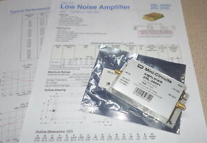 Mini circuits Amplifier Zrl 3500 705 1032 700 3500mhz Free Ship rb2 4