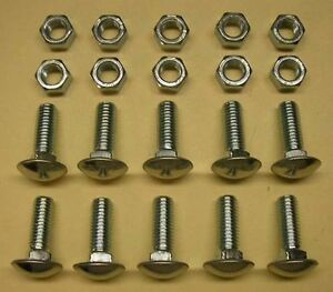 1960 1966 Chevy Or Gmc Pickup Truck Bumper Bolt Set Front Rear
