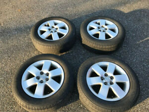 2007 Oem Toyota Corolla Rims Wheels And Tires 195 65 15 Set Of 4 Used