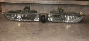 Prelude Bb6 Bb7 Type S Honda 97 01 Genuine Oem Jdm Fog Lights Sir With Button
