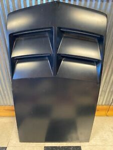 2012 2015 Camaro Zl1 Carbon Fiber Hood Scoop Insert Oem Gm 23240616 Painted