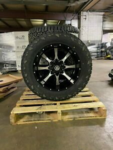 20x10 A2 Off Road Moto Metal Fuel At 33 Wheel Tire Package 6x135 Ford W Tpms