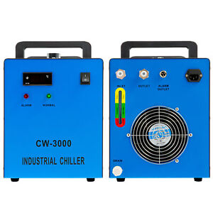 New Industrial Water Chiller Cw 3000 For Cnc Laser Engraver Engraving Machines