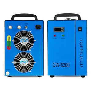 Industrial Water Chiller For Factory Tools And 60w 70w 80w 90w 100w Laser Tubes