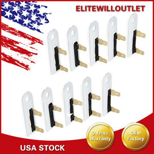 10tlg For Whirlpool Kenmore Dryer Thermal Fuse Replacement Part 3392519 new