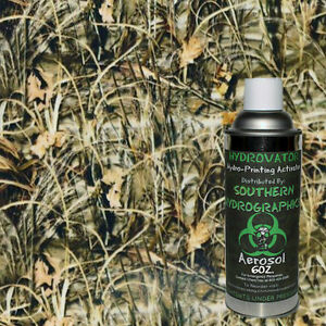 Hydrographic Film Water Transfer Hydro Dip 6oz Activator Reeds Camo 2 Kit Dip