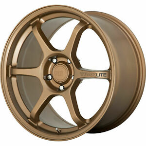 4 New 18 Motegi Mr145 Traklite 3 0 Wheels 18x9 5 5x100 45 Bronze Rims 72 6