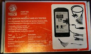 Matco Tools Md2993 Dis Ignition Module And Kv Tester
