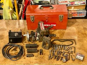 Kwik lathe On The Car Brake Rotor Lathe W Attached Power Feed Made In Usa